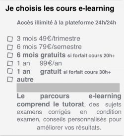 Abonnements plateforme e-learning CLF