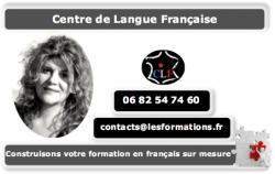 Contactez votre professeure de français
