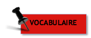 Exercices vocabulaire