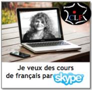 S'inscrire aux cours de français par Skype