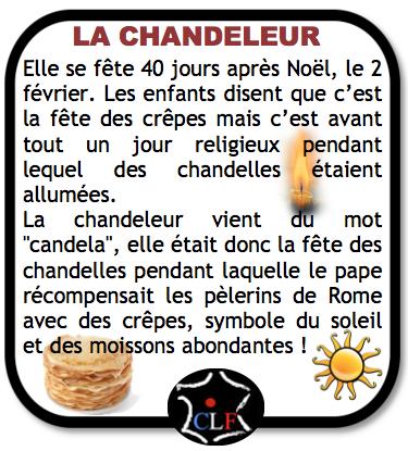 Histoire de la chandeleur