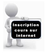 Inscription cours internet