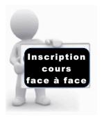 Inscription cours