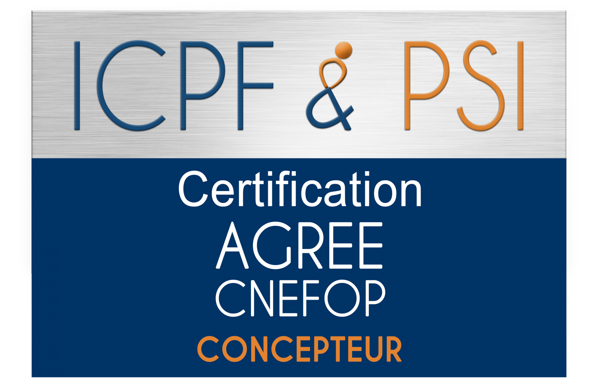 Logo icpf psi agree cnefop concepteur christel ceccotto