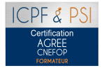 Logo icpf psi agree cnefop formateur christel ceccotto