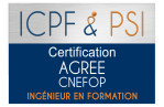 Logo icpf psi agree cnefop ingenieur en formation christel ceccotto