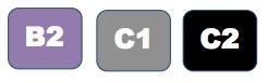 Niveaux b2 c1 c2