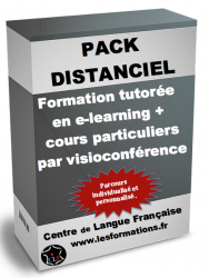Pack formation distanciel francais FLE FLM