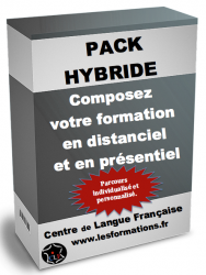 Pack formation hybride francais FLE FLM