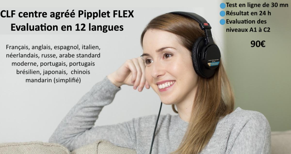 Pipplet flex 12 langues clf
