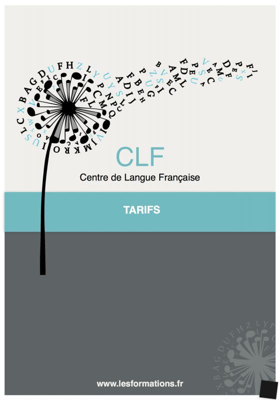 Tarifs des formations CLF