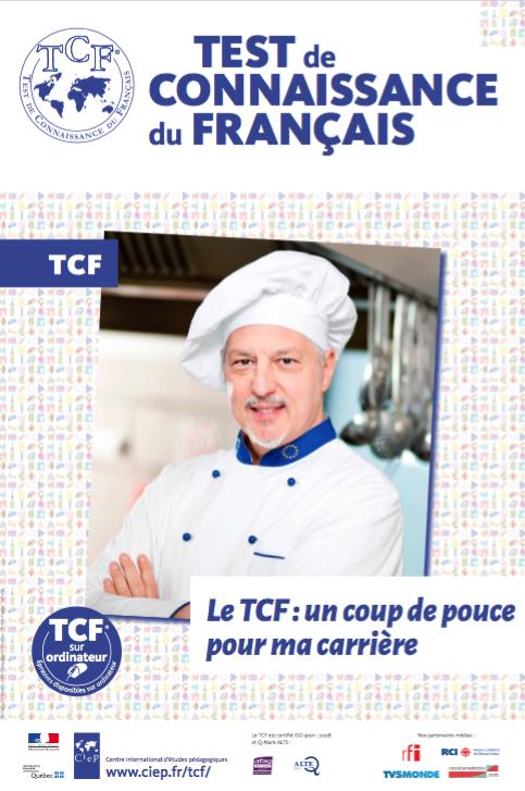 TCF pour justifier son niveau de français professionnel